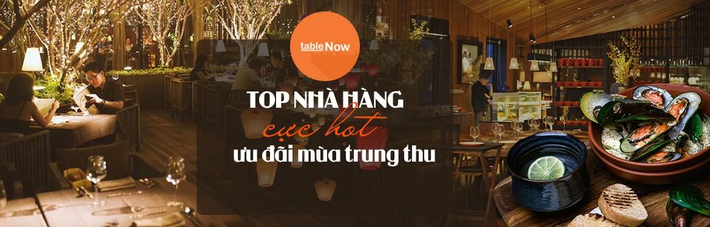 Top nhà hàng ưu đãi mùa trung thu