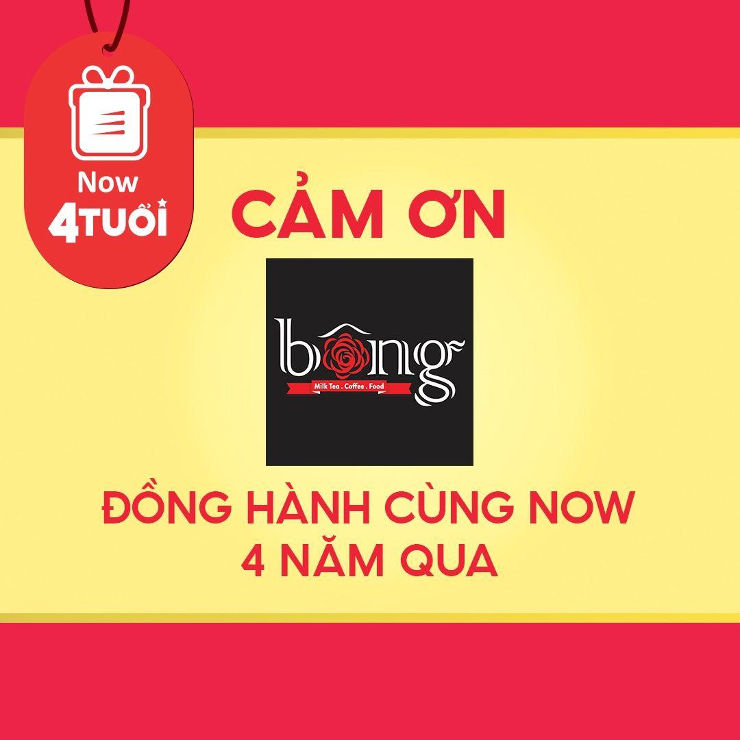 """Mừng """"Now 4 Tuổi Thổi 4 Triệu Deal"""" - Cảm ơn Bông Food & Drink đã đồng hành cùng Now"""