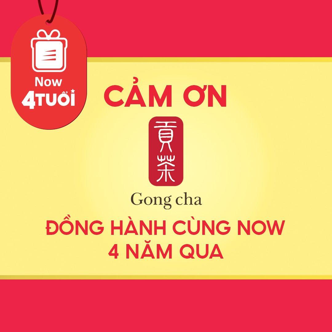 """Mừng """"Now 4 Tuổi Thổi 4 Triệu Deal"""" - Cảm ơn Gong Cha Đà Nẵng đã đồng hành cùng Now"""