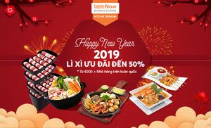 HAPPY NEW YEAR - ƯU ĐÃI ĐẾN 50%
