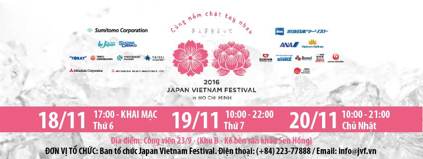 Japan Festival in Vietnam 2016 - Lễ hội Nhật Bản lớn nhất năm ở Sài Gòn