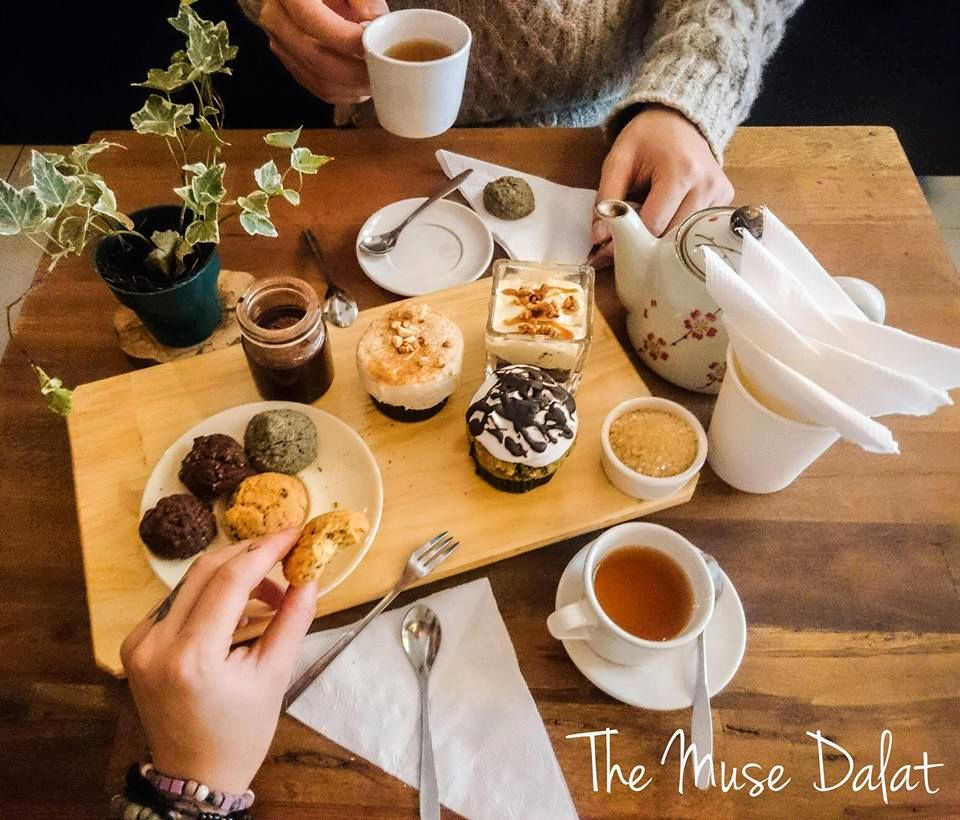 Image result for Cà phê The Muse foody