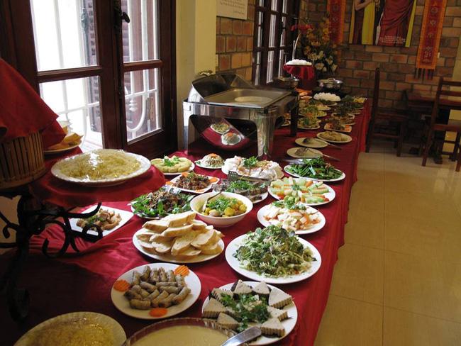 buffet chay Tam Viet