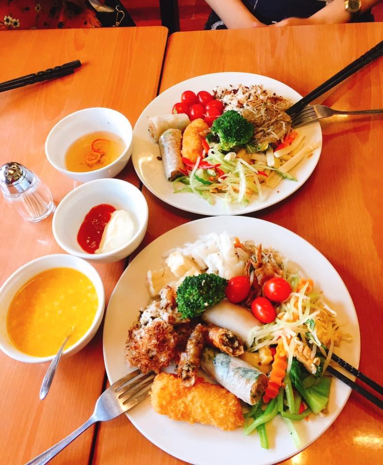 buffet chay  Bo De chay