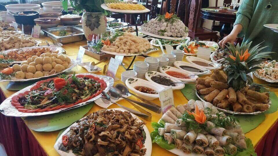 buffet chay Bo De Tam
