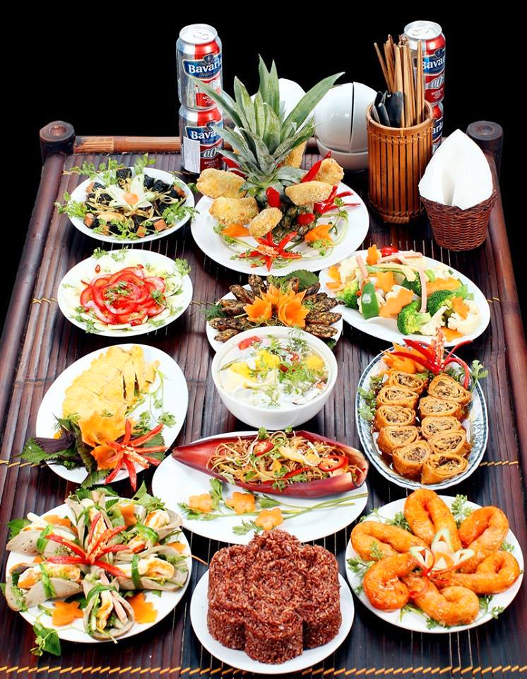 buffet chay Tam Thanh