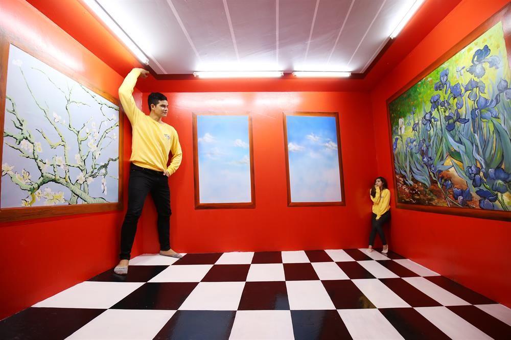 Kết quả hình ảnh cho phòng tranh 3d đà lạt