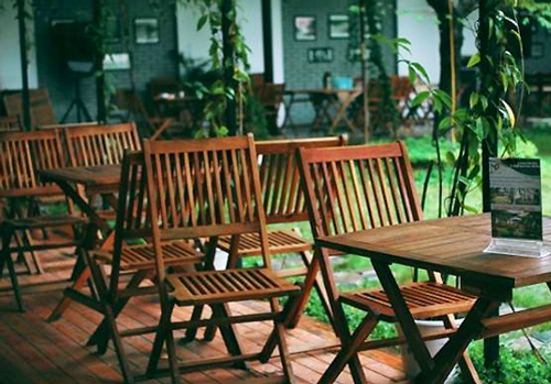 Cafe sân vườn tại số 98 ngõ 110 Cầu Giấy