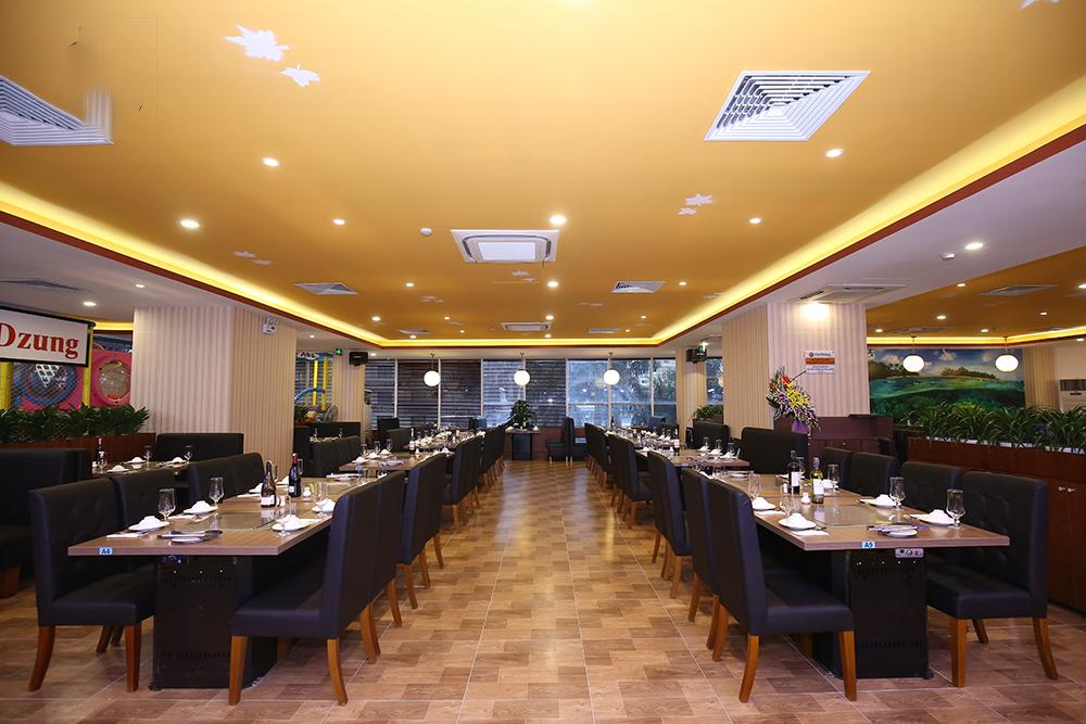 buffet trưa ngon, rẻ ở Hà Nội_Chef Dzung