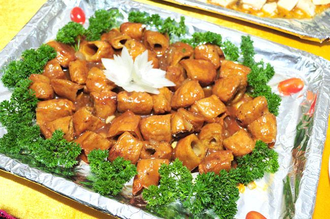 buffet chay nha hang Hieu Sinh