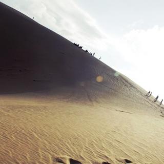 Trải nghiệm trượt cát tại bán đảo Phương Mai - Bình Định
