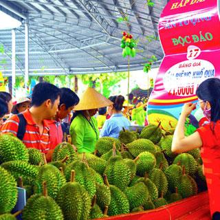 Khám phá thiên đường trái cây tươi ngon tại lễ hội Trái cây Nam Bộ