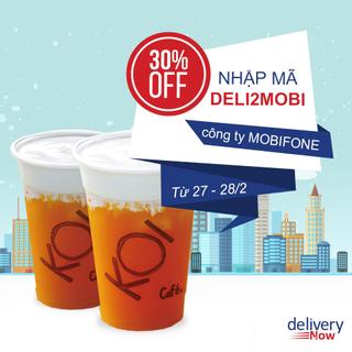 Giảm 30% 14 quán khi đặt món giao đến Công Ty MobiFone - deliveryNow