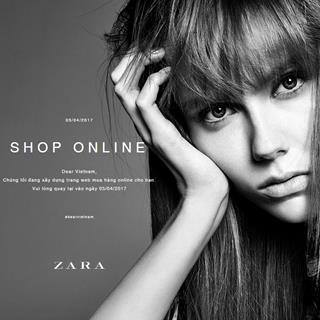HOT - Zara Việt Nam sẽ bán hàng online bắt đầu từ 5/4 tới