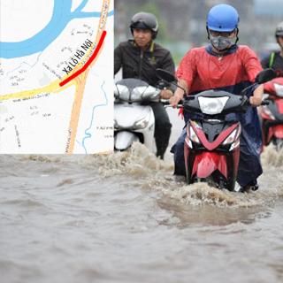 Tổng hợp các tuyến đường bị ngập nặng ở TP.HCM trong mùa mưa bão