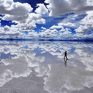 Ngỡ ngàng vẻ đẹp lôi cuốn của chiếc gương soi KHỔNG LỒ nhất thế giới