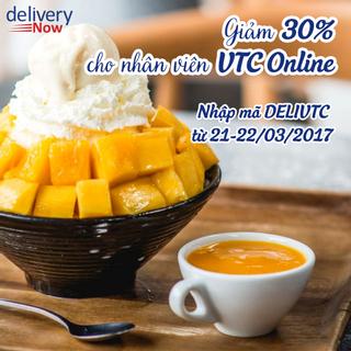 (Hà Nội) Giảm 30% tại 10 quán khi đặt món giao đến VTC Online - deliveryNow