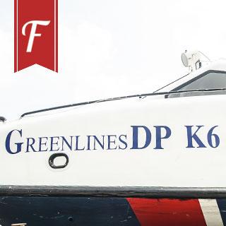 """""""ĐƯA NHAU ĐI TRỐN"""" mau lẹ và an toàn với tàu cao tốc GreenlinesDP"""