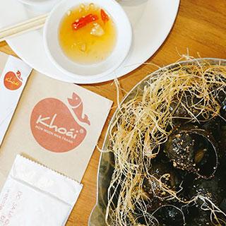 Trải nghiệm chuẩn vị ẩm thực Nha Trang duy nhất tại Sài Gòn cùng Nhà hàng Khoái