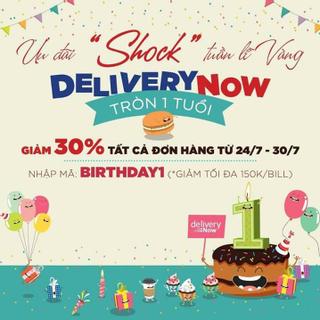 Vỡ kế hoạch giảm cân vì kêu món thả ga với SINH NHẬT của DeliveryNow