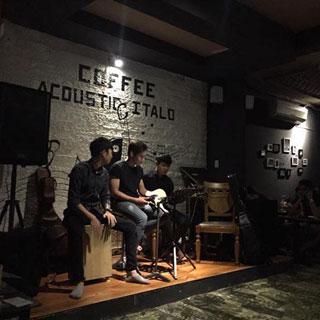 Rỉ Tai Nhau Ghé Café Nhạc Live Lãng Mạn Giá Mềm