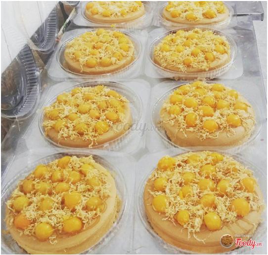 Beo Bakery - Bánh Bông Lan Trứng Muối 1