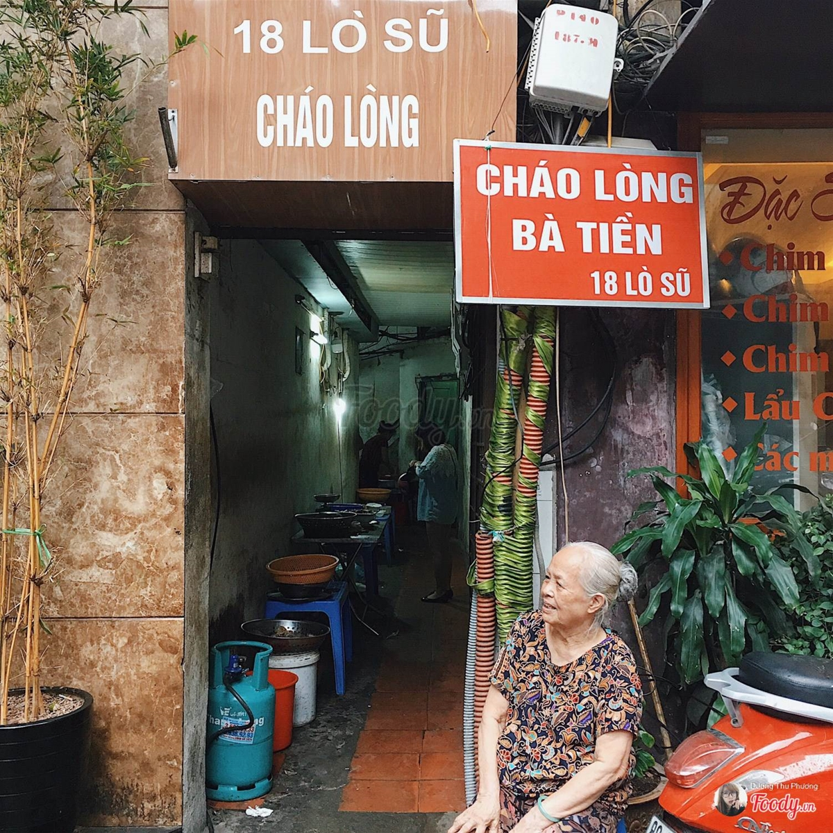 Chao long ngon Ha Noi