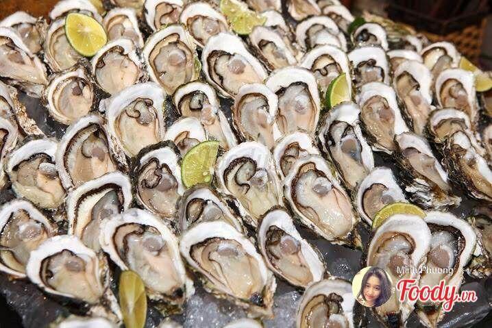 buffet hai san L'annam Seafood Buffet