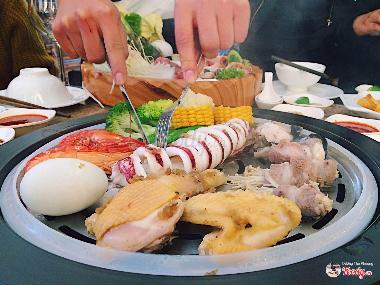 Buffet Nhà hàng Lã Vọng