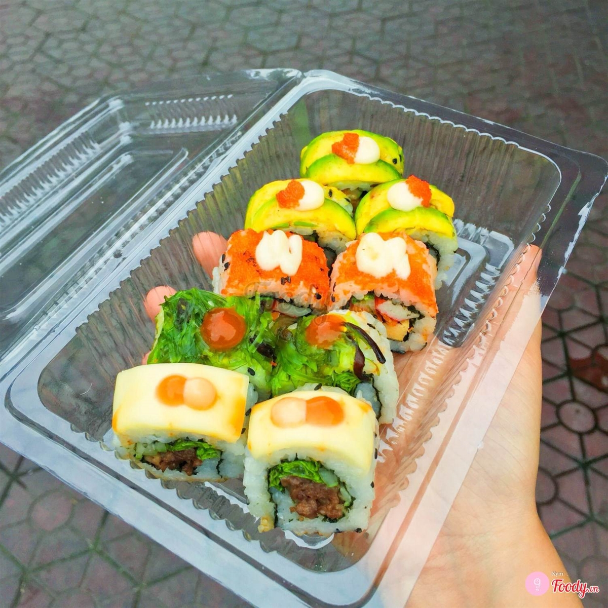 Top 10 quán sushi ngon ship tận nơi
