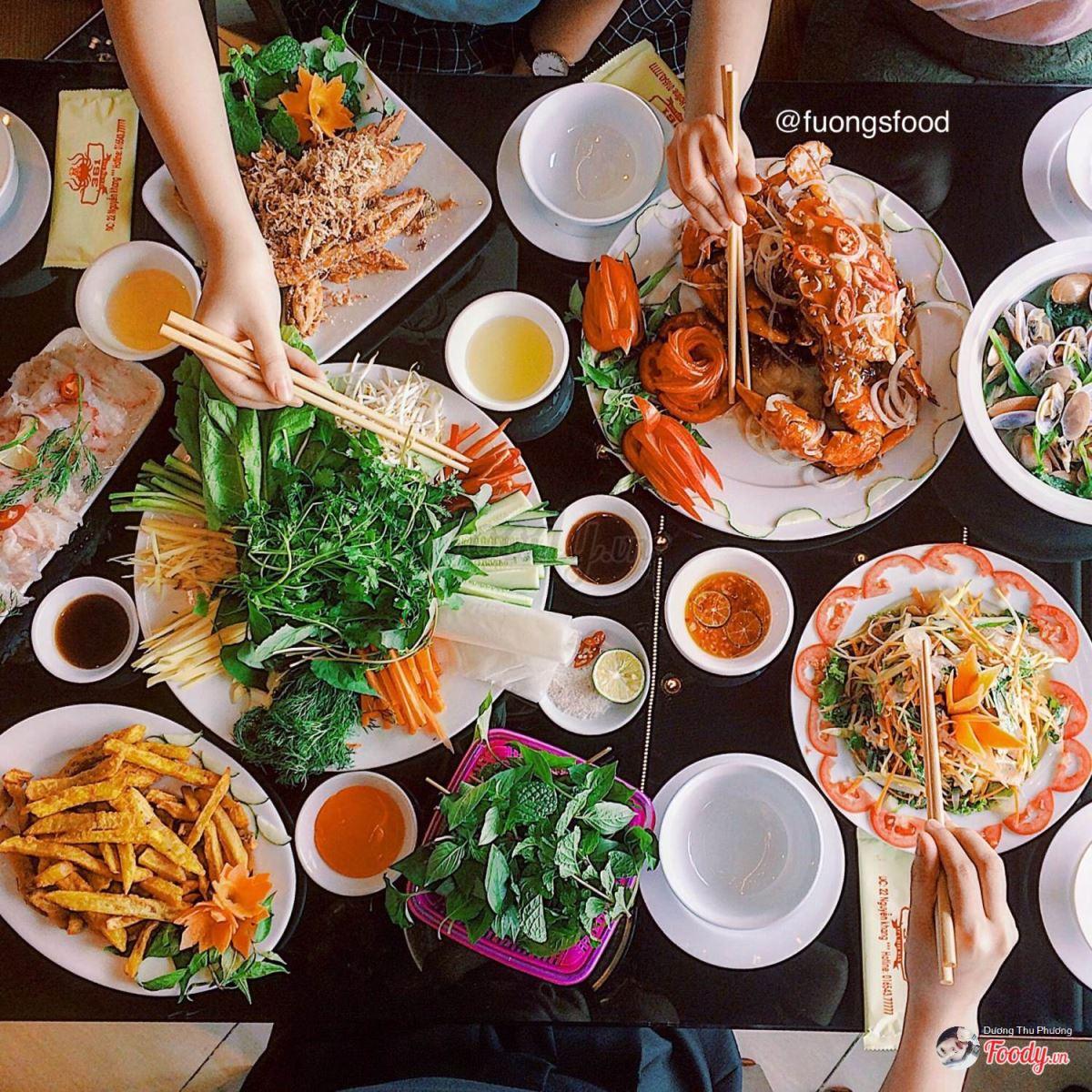 nhà hàng hải sản ngon_Vua Hải Sản