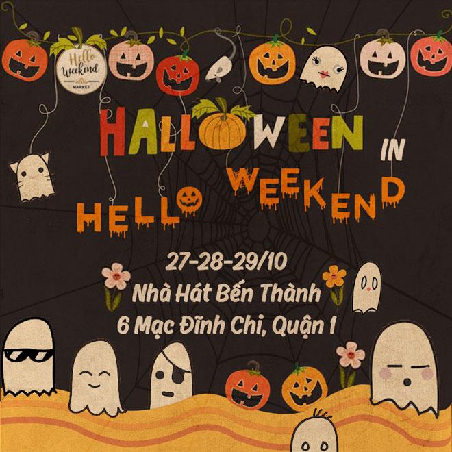 Lể hội Halloween tại nhà hát Bến Thành