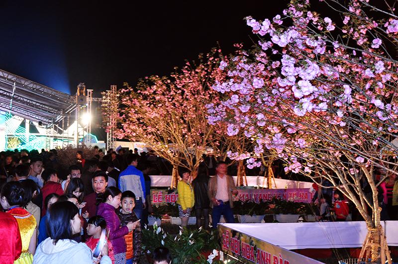 Trải nghiệm đồ ăn vặt tại lễ hội Hoa Anh đào Quảng Ninh - ảnh 4