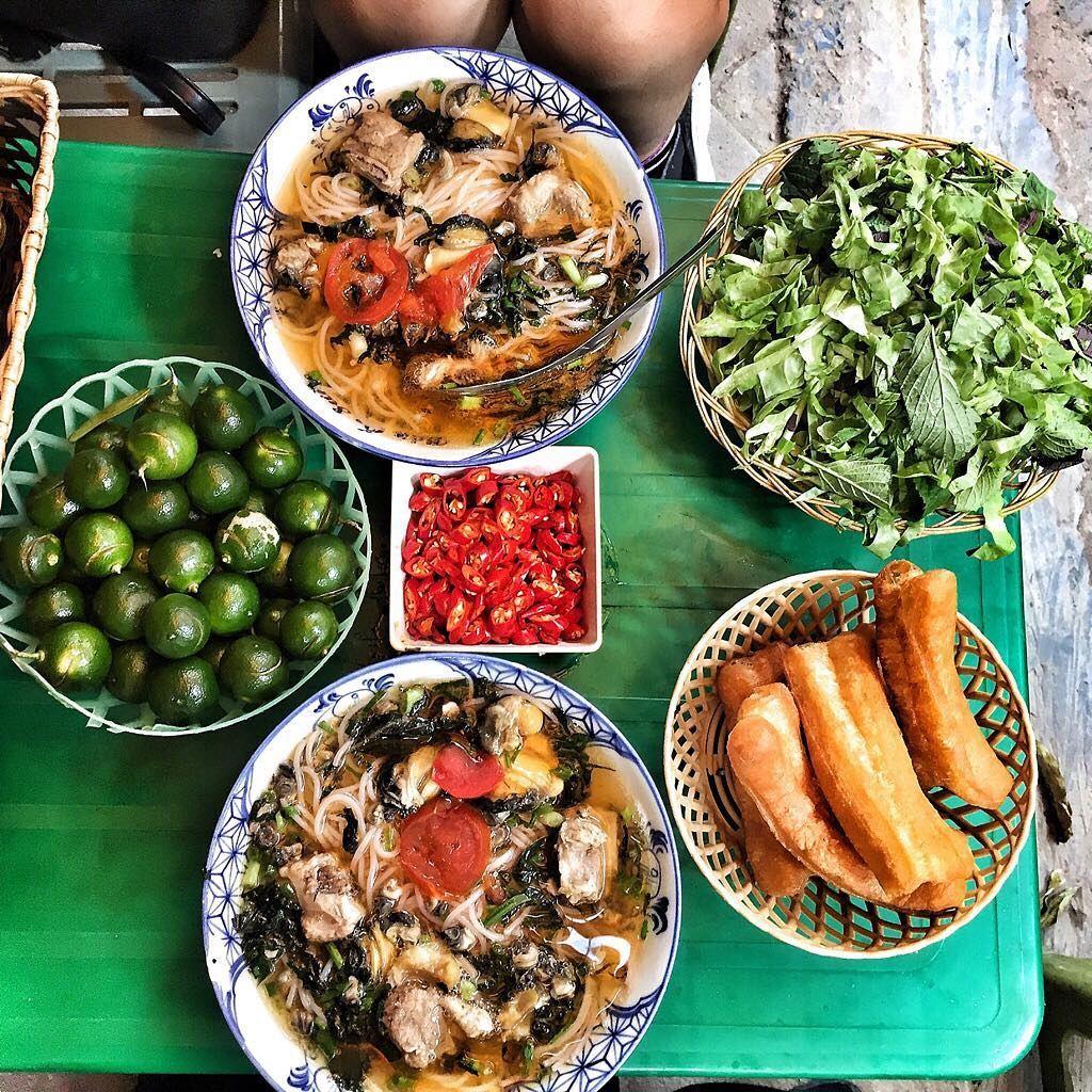 Bún ốc ngon ở Hà Nội
