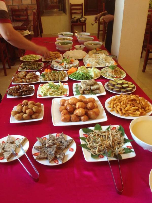 buffet chay nha hang Nhat Tam