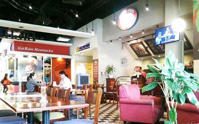 Highlands Coffee Parkson Lê Thánh Tôn, cafe sang trọng ở TP. HCM
