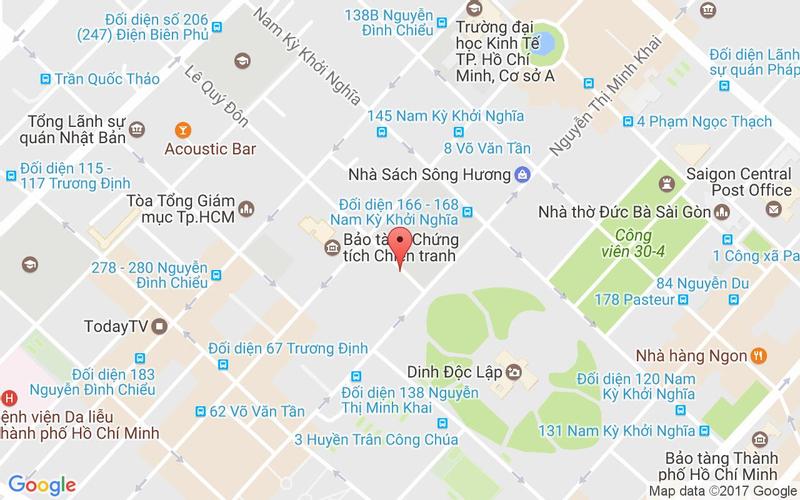 Bản đồ - Khoái - Món Ngon Nha Trang - Lê Quý Đôn