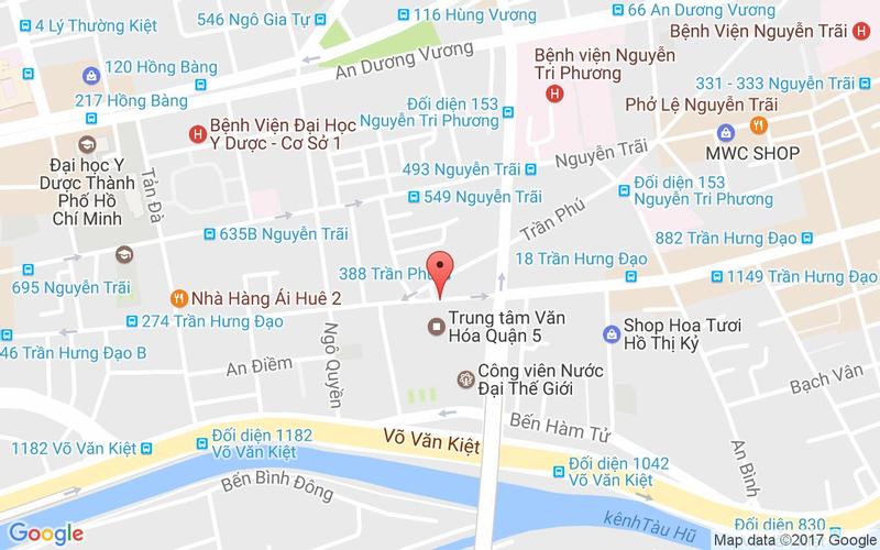 Bản đồ - Cát Tường - Món Hoa - 105 Trần Hưng Đạo