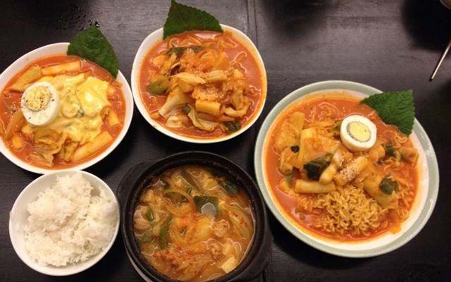 Topokki - Món Hàn