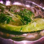 Cá lóc hấp bầu