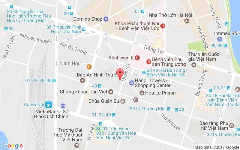 Bản đồ - Long Đình - Ẩm Thực Hồng Kông
