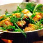 Món ăn tươi ngon đậm vị truyền thống.