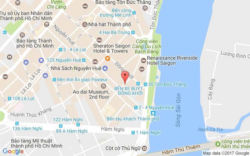 Bản đồ - Hoàng Yến Buffet - Melinh Point
