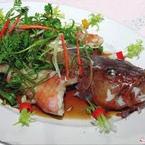 Cá Mú Hấp Hong Kong