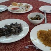 Các món ăn buffet