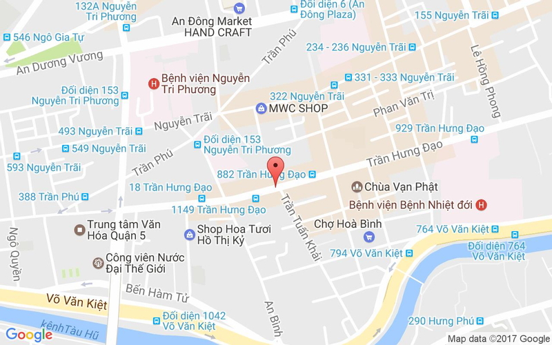 Bản đồ - Quán Ăn Sài Gòn 938 - Ẩm Thực Trung Hoa