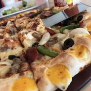 Pizza size lớn viền đôi super supreme