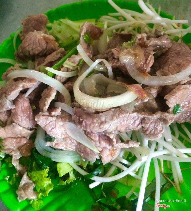 Bò sau khi nhúng dấm