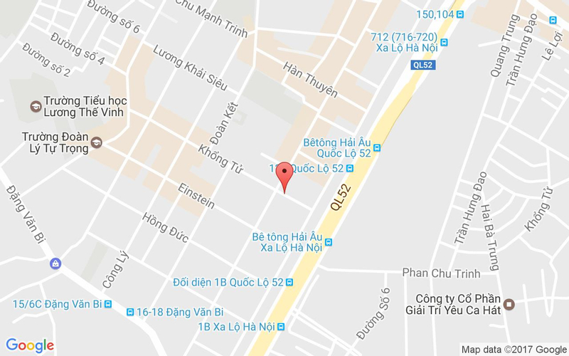 Bản đồ - Nhà Hàng Tư Trì - Lẩu Dê & Hải Sản