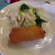 Chả giò hải sản & gỏi cá